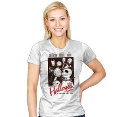 Halloweenblanca - Womens - T-Shirts - RIPT Apparel