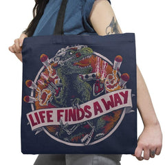 Life Finds A Way Exclusive - Tote Bag - Tote Bag - RIPT Apparel