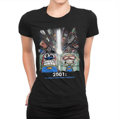 2001: A Space Madness Odyssey Exclusive - Womens Premium - T-Shirts - RIPT Apparel