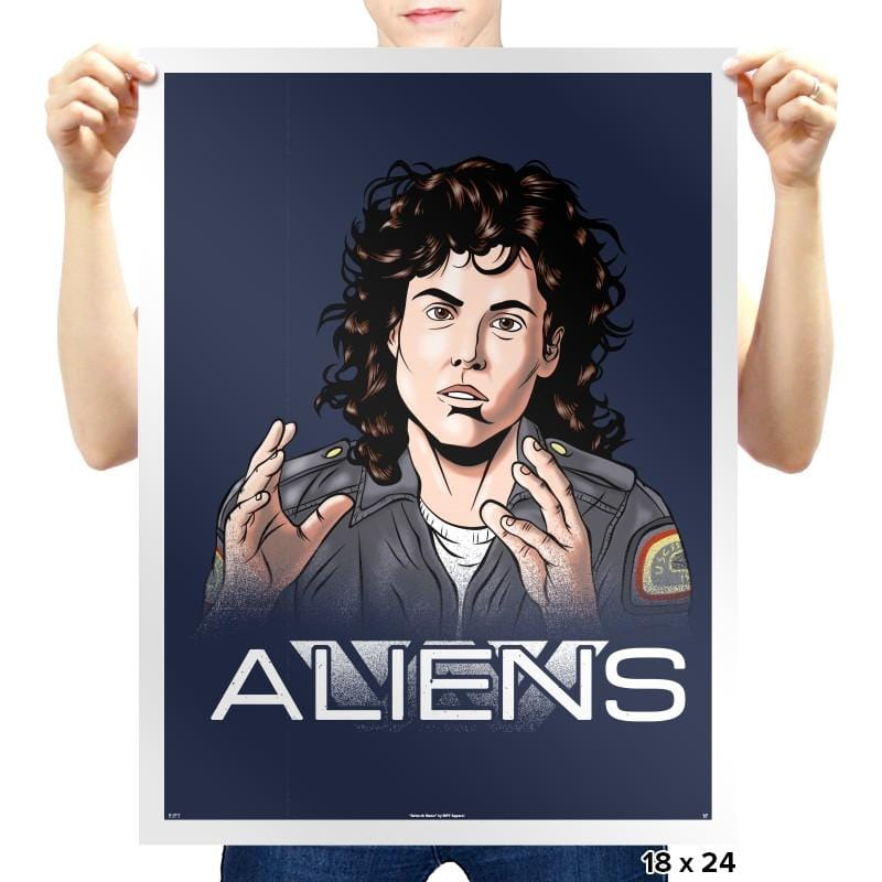 Aliens - Extraterrestrial Tees - Prints - Posters - RIPT Apparel
