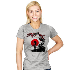 Saiyan Under the Sun - Womens - T-Shirts - RIPT Apparel