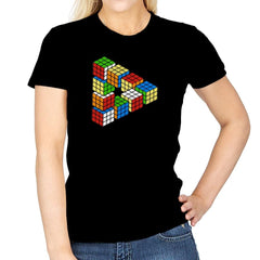 Magic Puzzle Cube Exclusive - Womens - T-Shirts - RIPT Apparel
