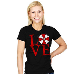 Umbrella Love Exclusive - Dead Pixels - Womens - T-Shirts - RIPT Apparel