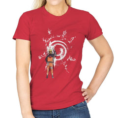Graff Naruto - Womens - T-Shirts - RIPT Apparel