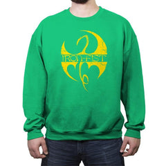 Iron Clan - Crew Neck Sweatshirt - Crew Neck Sweatshirt - RIPT Apparel