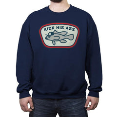 Sea Bass - Crew Neck Sweatshirt - Crew Neck Sweatshirt - RIPT Apparel