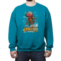 Animal X - Crew Neck Sweatshirt - Crew Neck Sweatshirt - RIPT Apparel