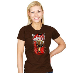 Kong Comics - Womens - T-Shirts - RIPT Apparel