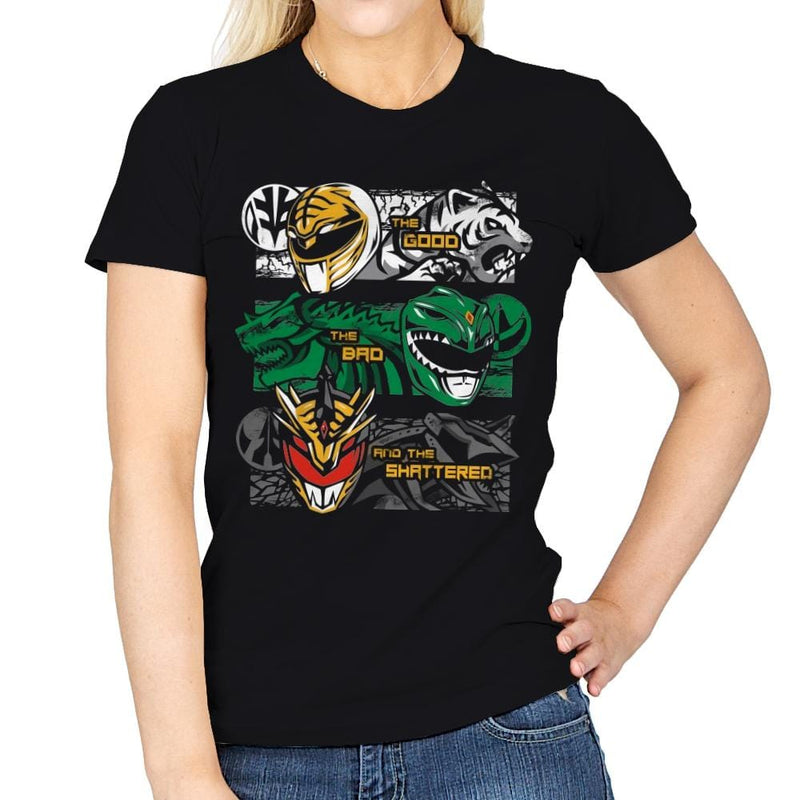 The Good, The Bad And The Shattered - Anytime - Womens - T-Shirts - RIPT Apparel