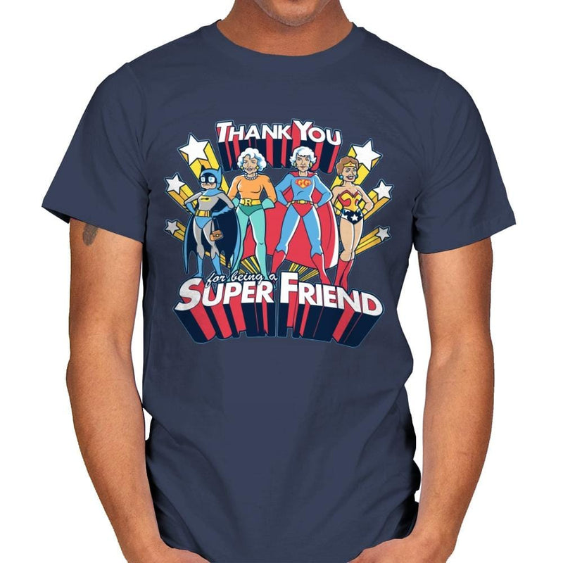 Super Friend - Anytime - Mens - T-Shirts - RIPT Apparel