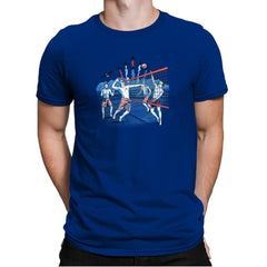 American Beach Volleyball Exclusive - Star-Spangled - Mens Premium - T-Shirts - RIPT Apparel