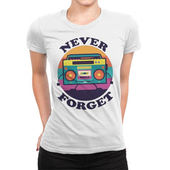 Don't Forget Me - Womens Premium - T-Shirts - RIPT Apparel