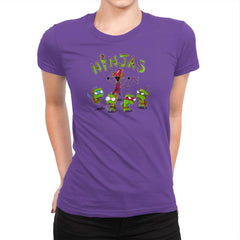 Invader Turtles Exclusive - Womens Premium - T-Shirts - RIPT Apparel