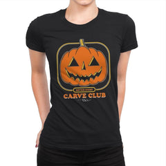 Carve Club - Womens Premium - T-Shirts - RIPT Apparel