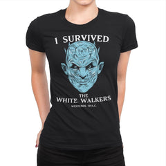 White Walker Survivor - Womens Premium - T-Shirts - RIPT Apparel
