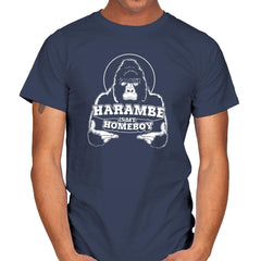 Harambe is my Homeboy Exclusive - Mens - T-Shirts - RIPT Apparel
