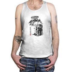 Major vs Tank sumi-e - Tanktop - Tanktop - RIPT Apparel