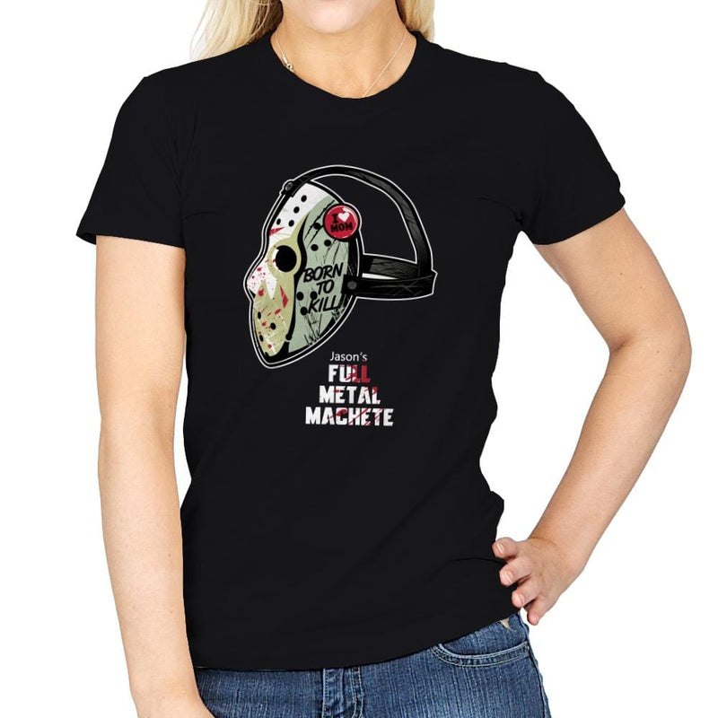 Full Metal Machete - Womens - T-Shirts - RIPT Apparel