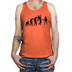 Evolution Hack - Tanktop - Tanktop - RIPT Apparel