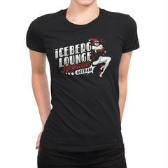 Iceberg Lounge Nightclub - Womens Premium - T-Shirts - RIPT Apparel