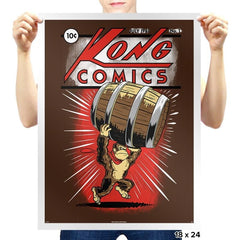 Kong Comics - Prints - Posters - RIPT Apparel