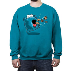 Kirby Monster - Crew Neck Sweatshirt - Crew Neck Sweatshirt - RIPT Apparel