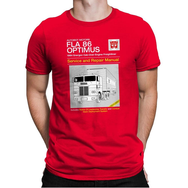 1984 Cab Repair Manual Exclusive - Shirtformers - Mens Premium - T-Shirts - RIPT Apparel