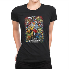 Super HB Heroes - Womens Premium - T-Shirts - RIPT Apparel