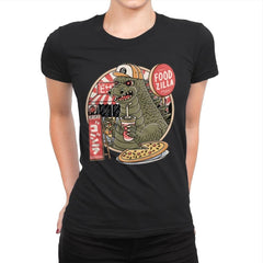 Foodzilla - Womens Premium - T-Shirts - RIPT Apparel