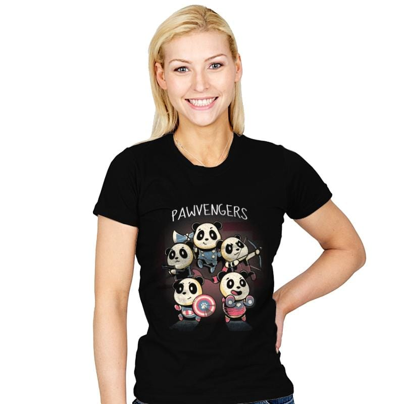 Pawvengers - Womens - T-Shirts - RIPT Apparel