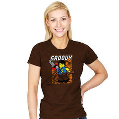 Everthing is Groovy - Womens - T-Shirts - RIPT Apparel