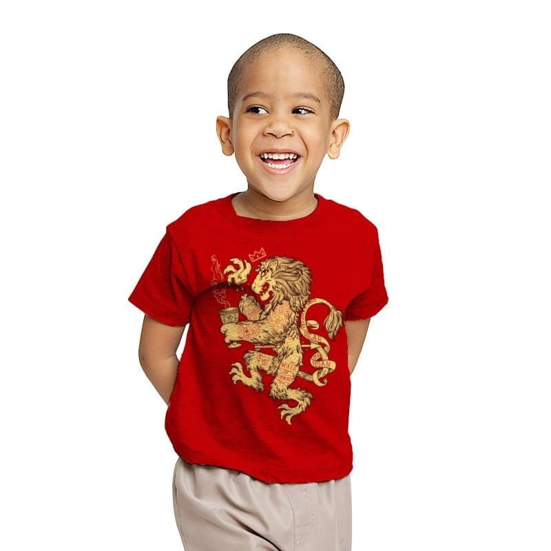 Lion Spoiler Crest - Youth - T-Shirts - RIPT Apparel