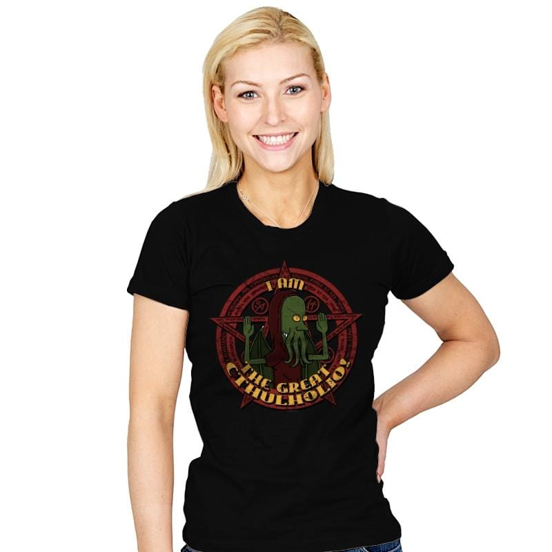 The Great Cthulholio - Womens - T-Shirts - RIPT Apparel