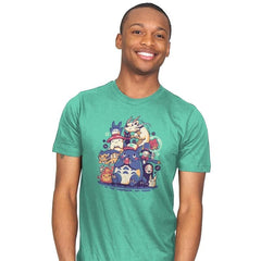 Creatures Spirits and friends - Mens - T-Shirts - RIPT Apparel
