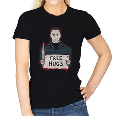 Free Hugs Yay - Womens - T-Shirts - RIPT Apparel