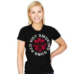 Red hot smoking guns - Womens - T-Shirts - RIPT Apparel