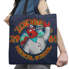 Med. School Of The Future Exclusive - Tote Bag - Tote Bag - RIPT Apparel