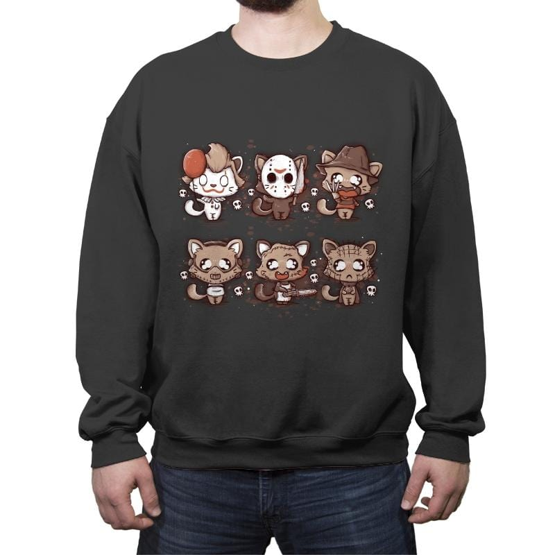 Kawaii Killers - Crew Neck Sweatshirt - Crew Neck Sweatshirt - RIPT Apparel