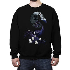 Nightmare Before Vader - Crew Neck Sweatshirt - Crew Neck Sweatshirt - RIPT Apparel