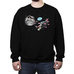 Termina Trench Run - Crew Neck Sweatshirt - Crew Neck Sweatshirt - RIPT Apparel