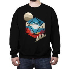 D20 World - Crew Neck Sweatshirt - Crew Neck Sweatshirt - RIPT Apparel