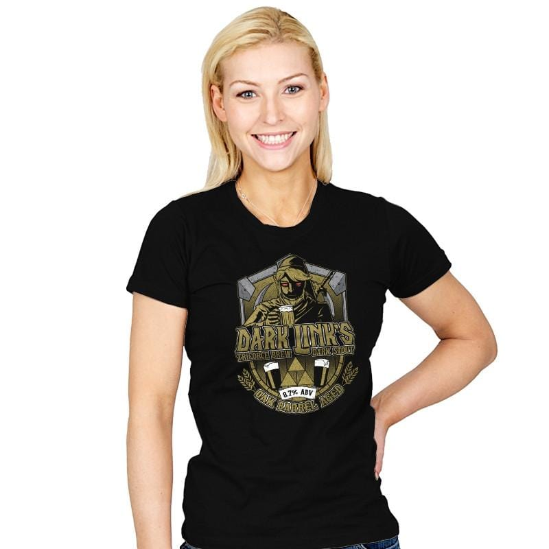 Dark Triforce Brew - Womens - T-Shirts - RIPT Apparel