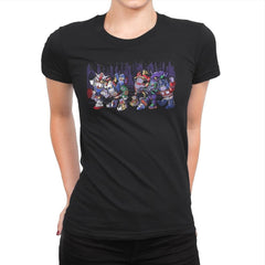Where the Wild Mechs Are - Womens Premium - T-Shirts - RIPT Apparel