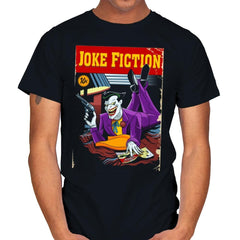 Joke Fiction HA - Mens - T-Shirts - RIPT Apparel