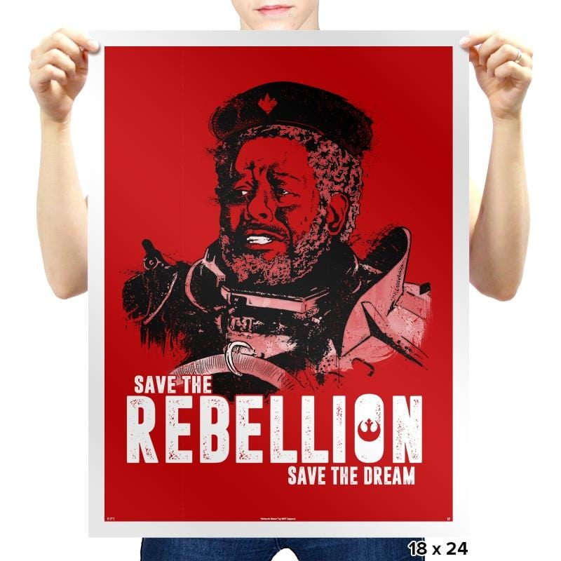 Save The Rebellion - Prints - Posters - RIPT Apparel
