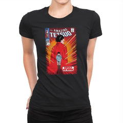 The Amazing Tetsuo - Womens Premium - T-Shirts - RIPT Apparel