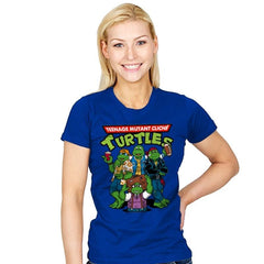 Cliché Turtles - Womens - T-Shirts - RIPT Apparel