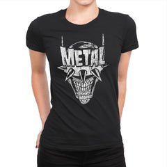 Heavy Metal Laughing-Bat - Anytime - Womens Premium - T-Shirts - RIPT Apparel