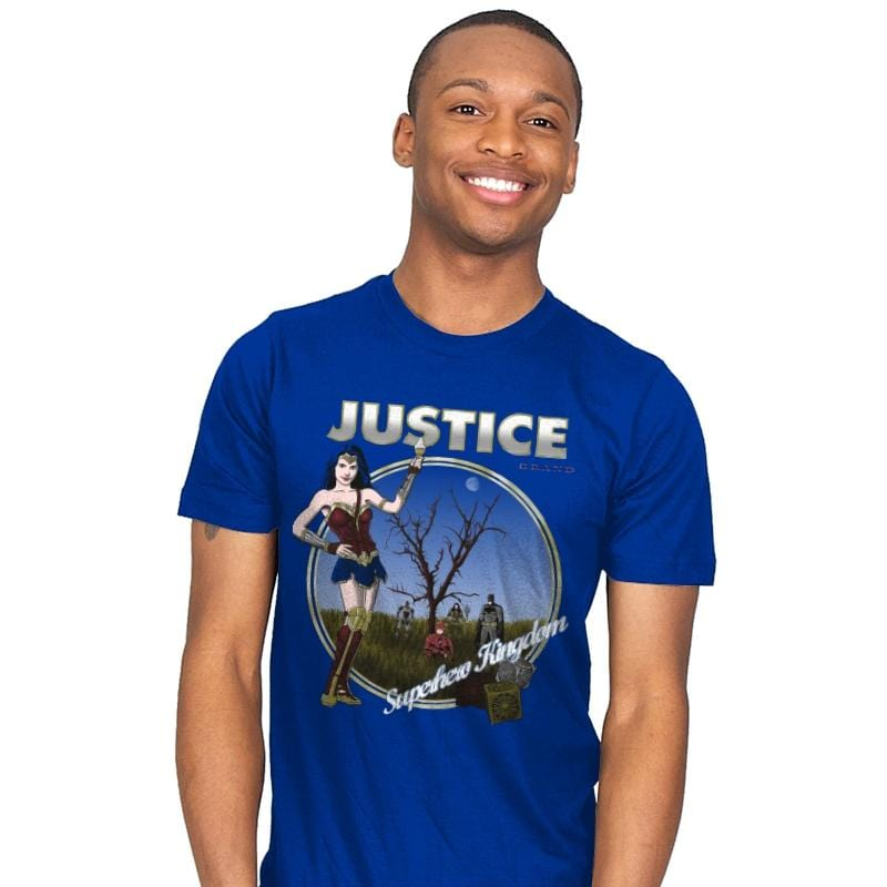 Superhero Kingdom - Mens - T-Shirts - RIPT Apparel