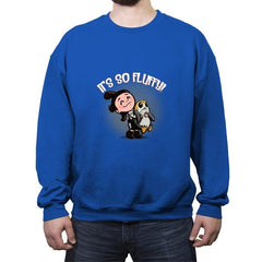 It's so Fluffy! - Crew Neck Sweatshirt - Crew Neck Sweatshirt - RIPT Apparel